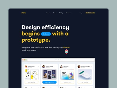 Drifft Web Templates ( It's Cooking) design agency website concept branding landingpage animation prototype animation prototype web design homepage design webdesign homepagedesign agency website website design landing page homepage dribbble website turjadesign