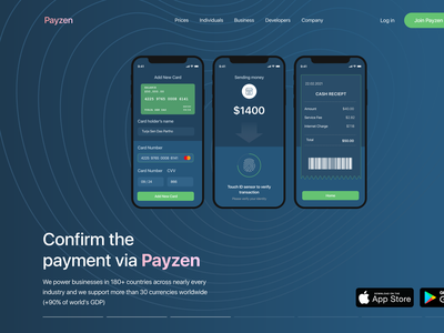 Payzen Crypto Header Exploration crypto wallet cryptocurrency web ui payment agency website logo website design web design homepagedesign webdesign dribbble homepage design homepage landing page turjadesign