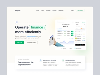 Payzen Crypto Payment Web (Its cooking) homepagedesign financial finance fintecch website concept uidesigns best shot dribbble best shot homepage ui websites website design branding web design webdesign dribbble homepage design homepage website landing page turjadesign