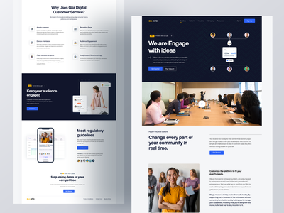 Blinto Homepage Concept 2021