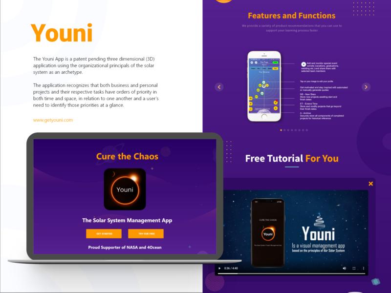 youni tutroial free website web functions features app solarsystem youni illustrator icon typography art ux vector logo illustration branding design ui