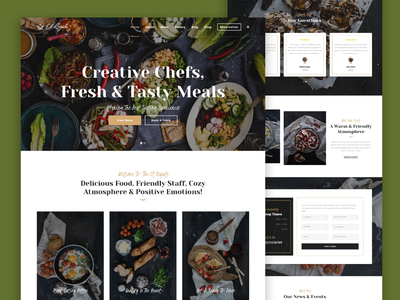 Delicious food web food app art minimal typography flat logo ui vector illustration branding design