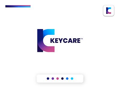 KEYCARE   Rebound Shot   Unfold icon app flat minimalist design illustration logo logodesign logos logomark brand identity logo design logotype branding