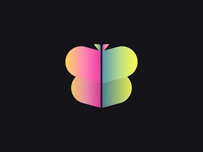 Butterfly Logomark | Logo & Brand Identity logotrends best logo ui flat minimal minimalist logo unique logo gradient logo modern logo illustration design logodesign logos logomark brand identity logo design logotype branding