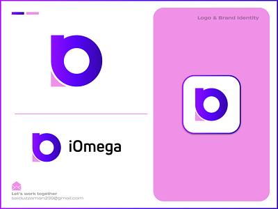 iOmega | Logo & Brand Identity Design letter logo p q r s t u v w x y z a b c d e f g h i j k l m n o o letter alpha unique minimalist minimal modern omega iomega logo design logodesign logos logomark brand identity logo design logotype branding