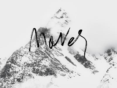 Mover - Handwritten Font