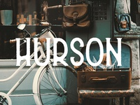 Hurson - Vintage Font