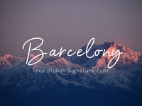 Barcelony  - Free Casual Monoline Font