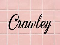 Crawley - Free vintage script font