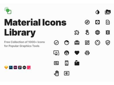 Free Material Icons Library