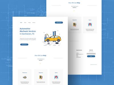 Free Mechanics Website Template