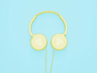 Free Headphones Mockup Psd
