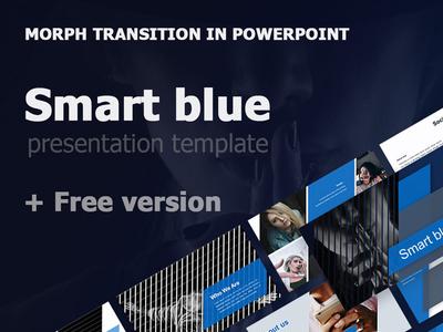 Free Blue Presentation Template