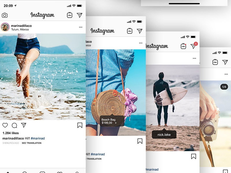 Free Instagram Feed And Profile Mockup instagram mockup template mockup design mockup psd mockup instagram mockup design branding freebies freebie