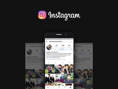 Free Social Media Instagram Mockup