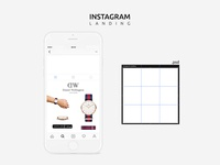 Free Instagram Mobile Mockup Psd Template