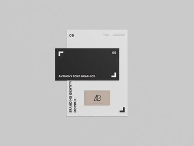 Free Small Branding Identity Mockup