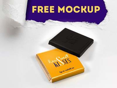 Free Chocolate Presentation Mockup mockup psd free mockup mockup ui design branding freebies freebie
