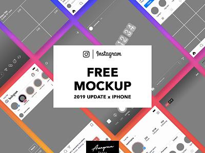 Free Instagram Mockup 2019 instagram mockup instagram mockup design branding freebies freebie