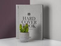 Free Realistic Hardcover Book Catalog Mockup