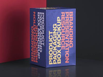 Free Rectangular Box Mockup free box mockup box mockup box mockup psd mockup design branding freebies freebie