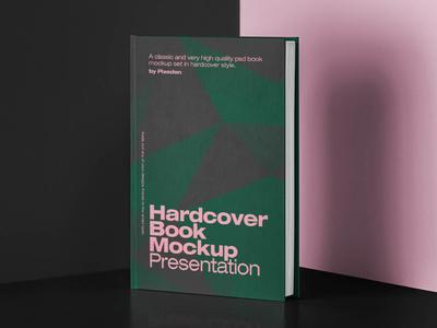Free Classic Hardcover Book Mockup hardcover mockup book mockup book ui design branding freebies freebie