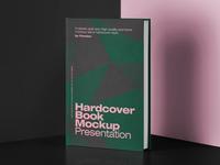 Free Classic Hardcover Book Mockup