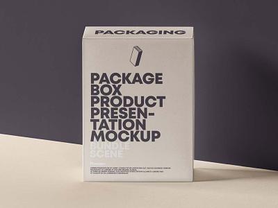 Free Product Packaging Box Mockup box mockup box packaging mockup design branding freebies freebie