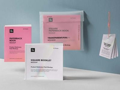 Free Product Manual Mockup mockup design branding freebies freebie
