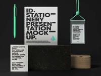 Free Branding Card Stationery Mockup