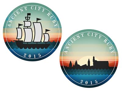 ACR 2015 Stickers hashrocket skyline sticker ship acr