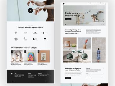 TheFutur - Portfolio Agency WordPress Theme wordpress theme template wordpress theme design minimal clean creative design agency portfolio creative responsive