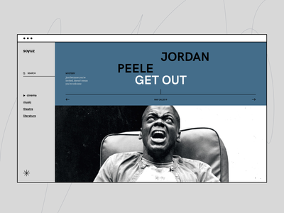 soyuz alternative layout ︎✳︎︎✳︎︎✳︎ wip website recommend social project music movie mobile interface media community ux ui service web design
