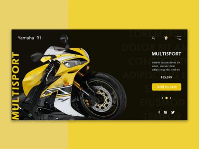 Yamaha R1 Multisport