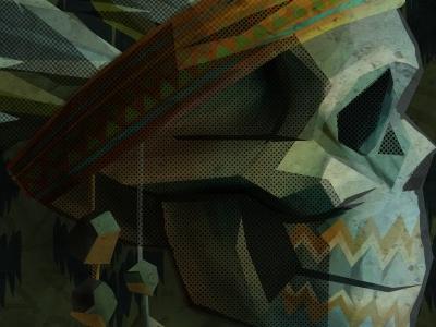 geo headdress