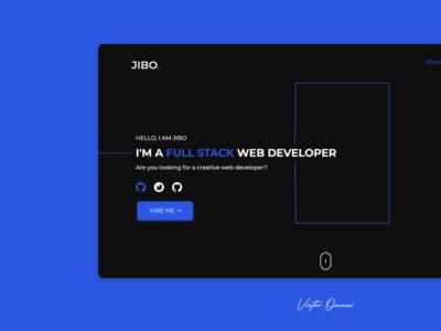 Jibola Portfolio site