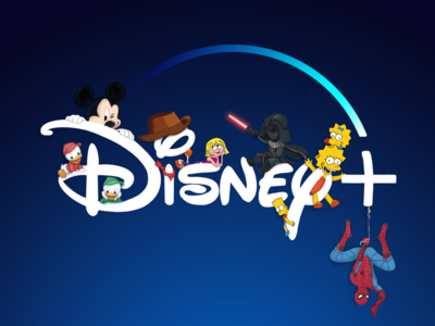 Disney+ Illustration