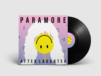 After Laughter by Paramore dribbbleweeklywarmup album cover weeklywarmup warmup album artwork paramore music redesign photoshop adobe illustrator