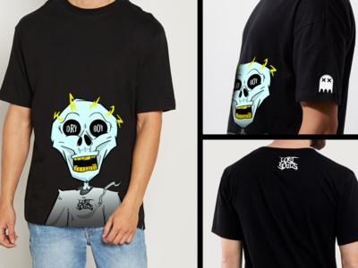 Skeleton T-Shirt Mockup