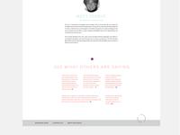 Movingthru Dance - web design 2
