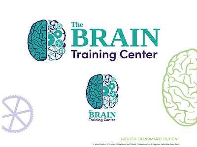 The Brain Training Center - Beckley, WV logo design branding and identity illustration design logo branding vector graphic  design
