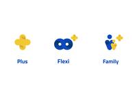 Plus Fare Logos