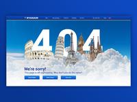 Ryanair 404 Page