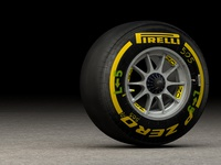 Ferrari Formula One Wheel