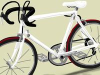 Bike - iPhone finger painting