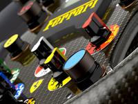 F1 2000 Steering Wheel Detail