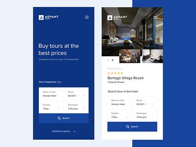 Advant travel mobile design travel app ios clean ux ui