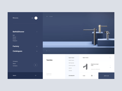 Ritmonio. e commerce shop web-design web design website design ux clean web ui