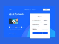 Payment System - landing page