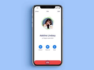Telegram contest application mobile telegram app ios design ux clean ui